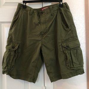 Arizona Green Cargo Shorts